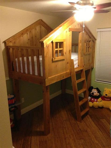 Tree-Fort-Bed-Plans