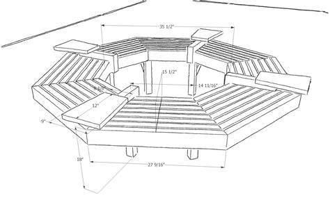 Tree-House-Bench-Plans