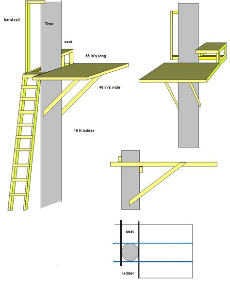 Tree-Stand-Building-Plans