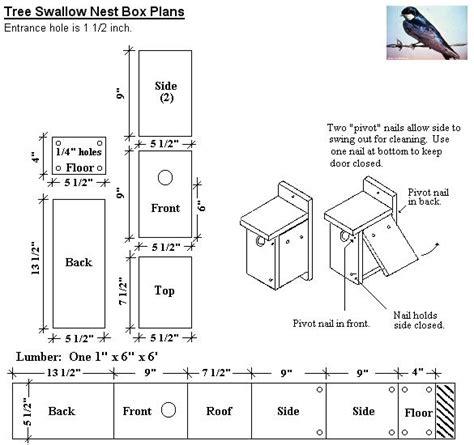 Tree-Swallow-Bird-House-Plans