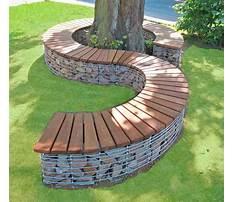 Best Tree bench plans