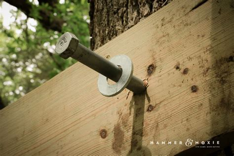 Treehouse Attachment Bolts Diy Crafts
