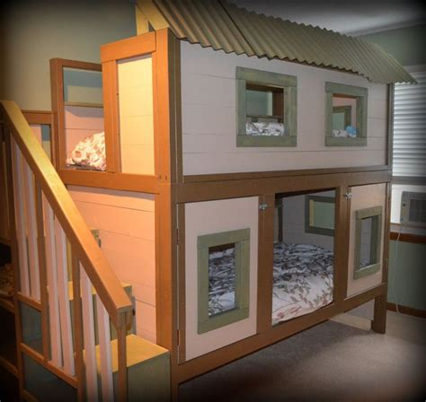 Treehouse Bed Plans
