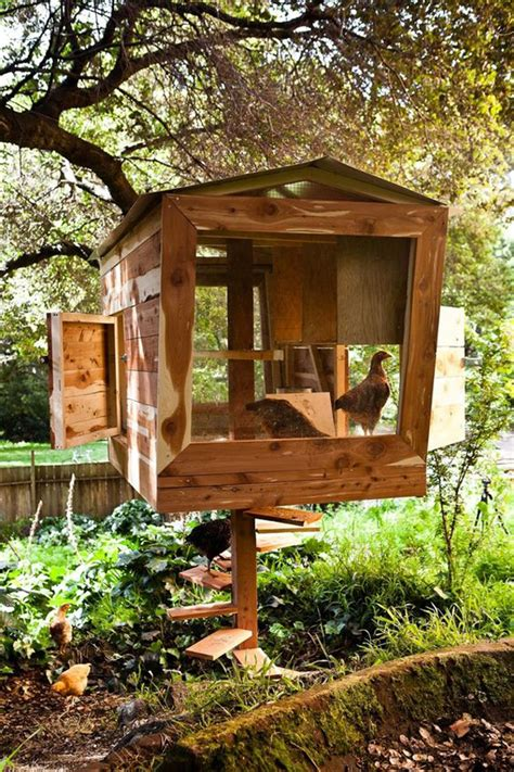 Treehouse-Chicken-Coop-Plans