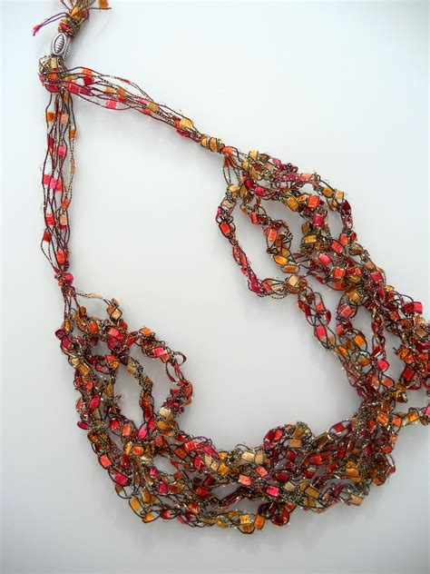 Trellis Necklace Instructions