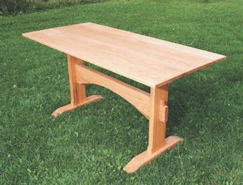 Trestle Desk Plan