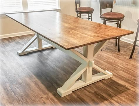 Trestle Farm Table Plans