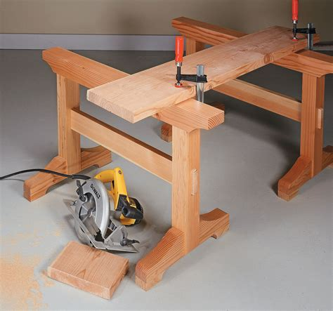 Trestle-Sawhorse-Plans