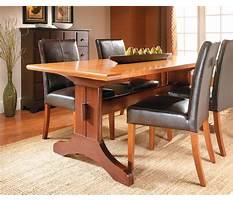 Best Trestle dining room table plans