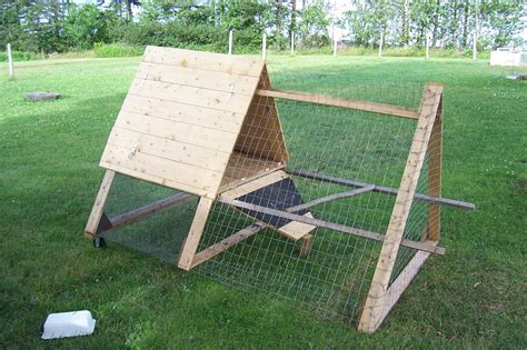 Triangle Chicken Coop Plans