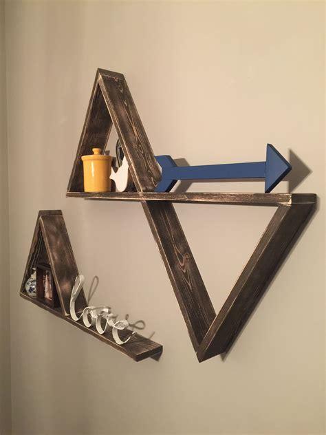 Triangle-Floating-Shelves-Diy