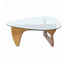 Best Triangle glass end table