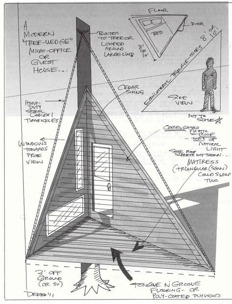 Triangular-Tree-House-Plans