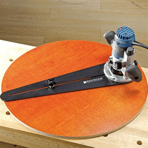 Trim Router Circle Jig Plans