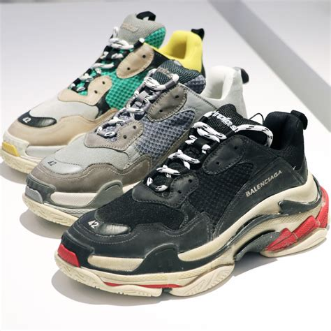 Triple S Ugly Sneaker From Balenciaga