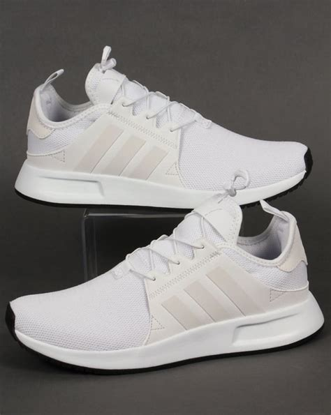 Triple White Adidas Kids Sneakers