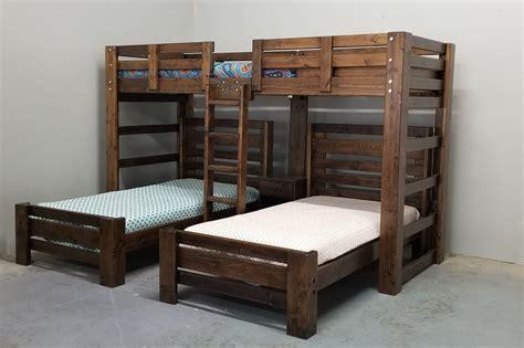 Triple-Bunk-Bed-Plans-Kids