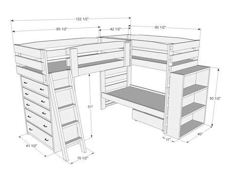 Triple-Lindy-Loft-Bed-Plans