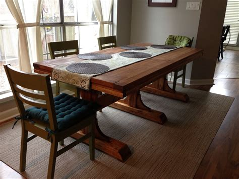 Triple-Pedestal-Farmhouse-Table-Plans