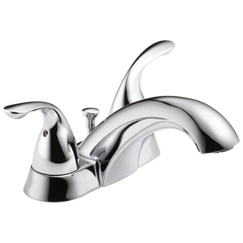 Triton Centerset Bathroom Faucet With Drain Assembly