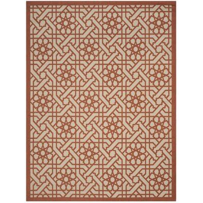 Triumph Cayenne Red/Gray Outdoor Area Rug