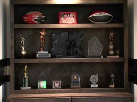 Trophy Case Building Plans