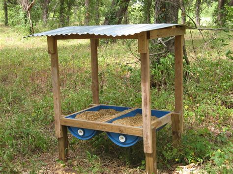 Trough-Deer-Feeder-Plans