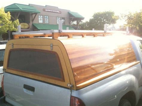 Truck Bed Camper Shell Diy Rack