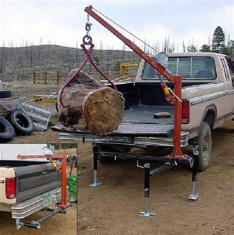 Truck Bed Crane Diy Tutorials