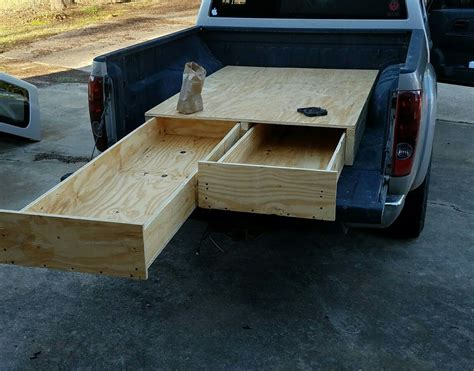 Truck Bed Drawer Tool Box Diy