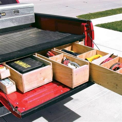 Truck Bed Drawer Tool Box Diy Gift