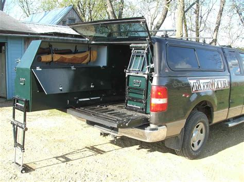 Truck Bed Pull Out Storage Diy Ideas