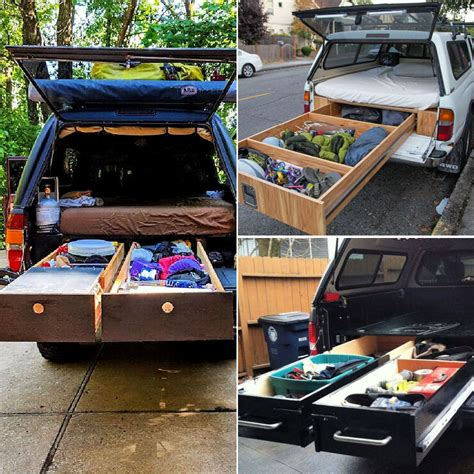 Truck Bed Shelf Diy Ideas