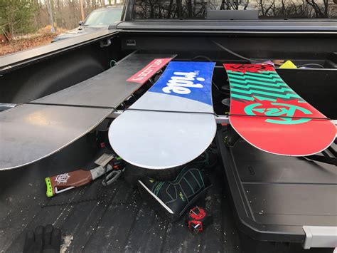 Truck Bed Ski Rack Diy Projects