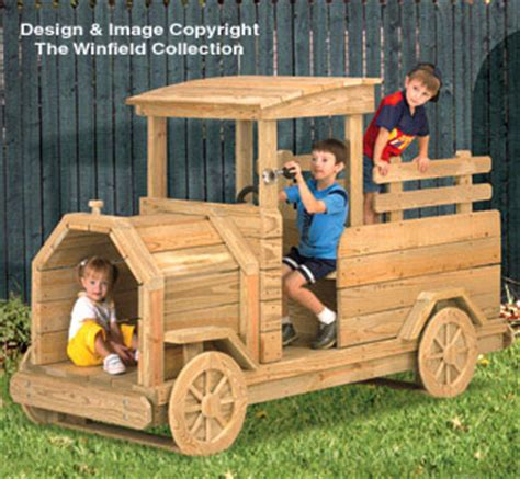 Truck-Play-Structure-Wood-Plans