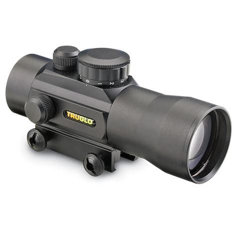 Truglo Optics Red Dots And Howard Leight Pushin Foam Ear Plugs