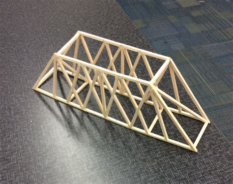 Truss Design Balsa Wood Project