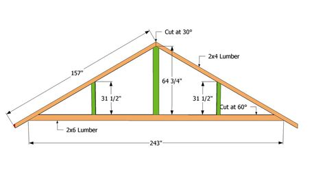 Truss Rafter Plans For 26 Span