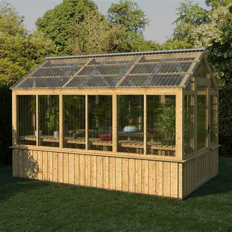 Tuftex Greenhouse Plans