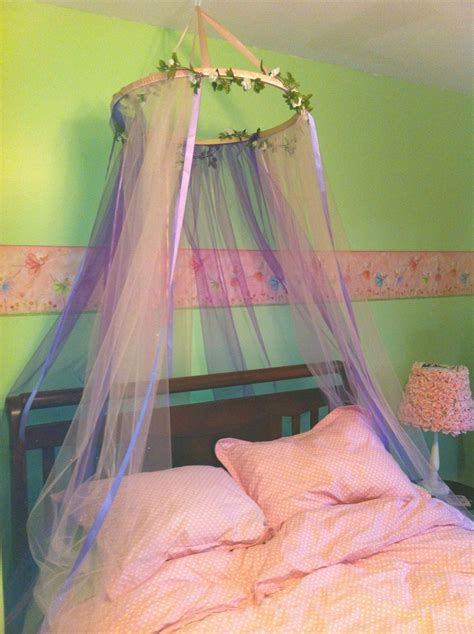 Tulle Bed Canopy Diy