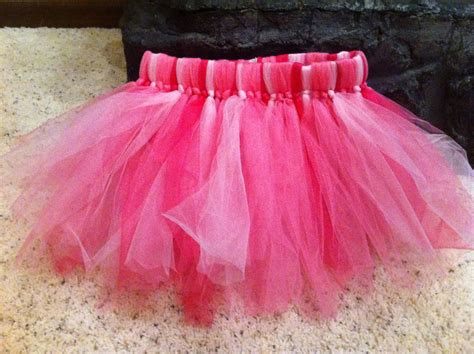 Tulle Skirt Diy For Kids
