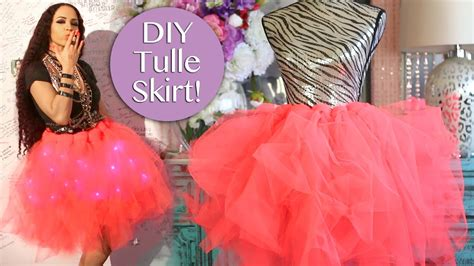 Tulle Skirt Diy No Sew