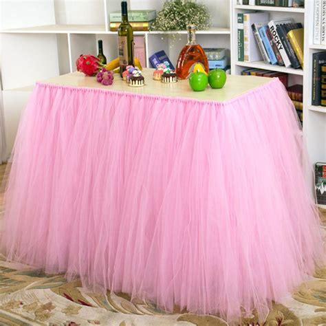 Tulle-Skirt-For-Table-Diy