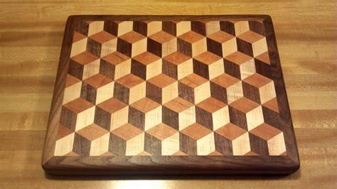 Tumbling-Block-Cutting-Board-Plans
