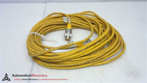 Turck Rsm Rkm 96-15M/S1587 Cord Set 9 Pole Male / Female Rsm Rkm 96-15M/S1587
