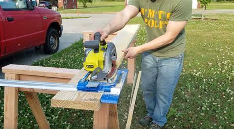 Turn A Circular Saw To A Table Saw