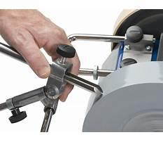Best Turning tool sharpening jig