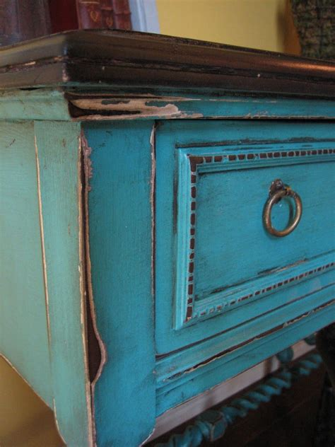 Turquoise Antique Furniture Diy Projects