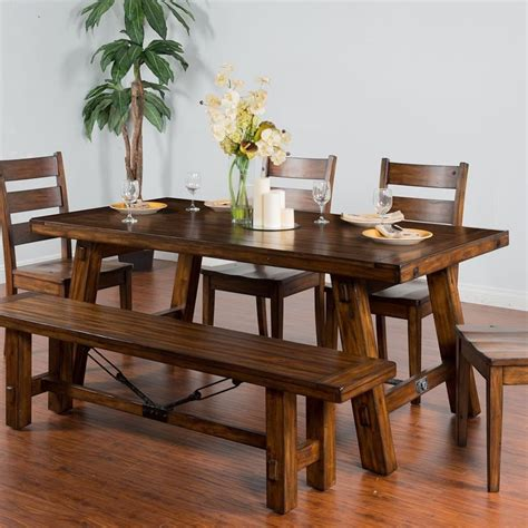 Tuscan Trestle Dining Table Plans