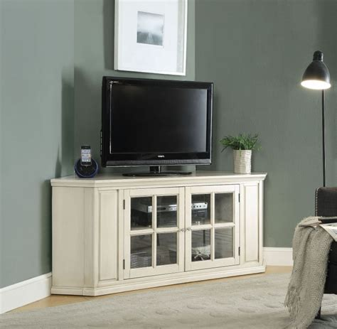 Tv Corner Cabinets White Antique